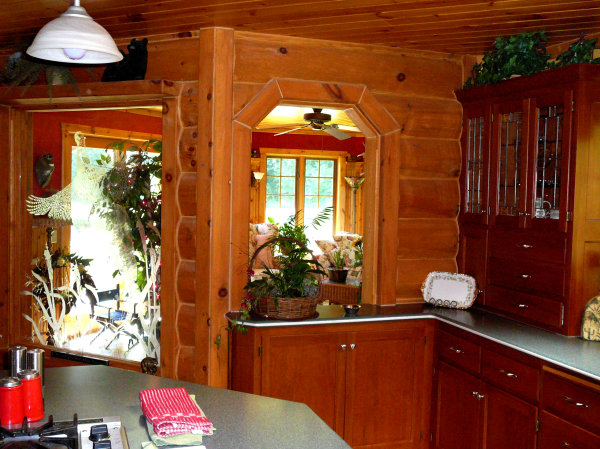 Luxury Log Home Interior Wisconsin C Weber Builders Delavan Wisconsin
